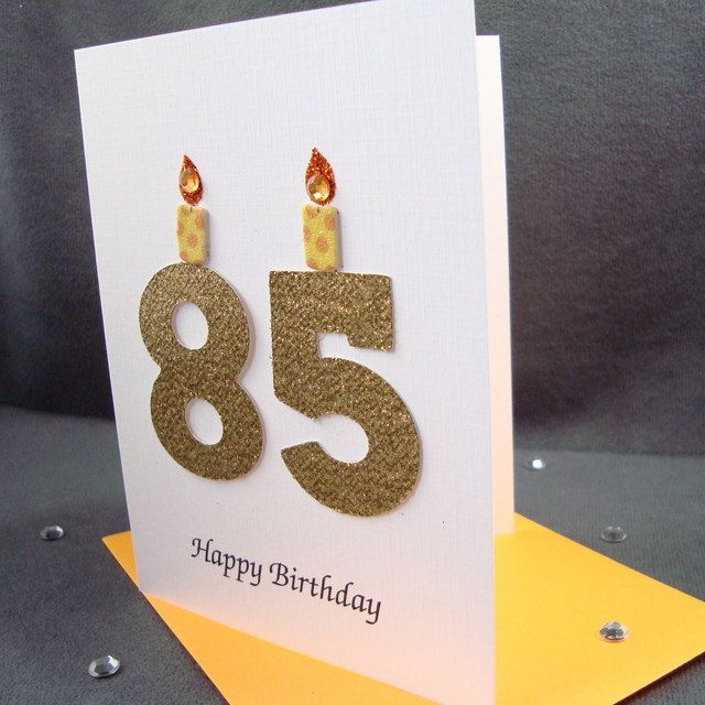 85th Birthday Card 85th Milestone Birthday Card 85th Etsy Birthday Cards Happy Birthday Greeting Card Birthday Greeting Cards