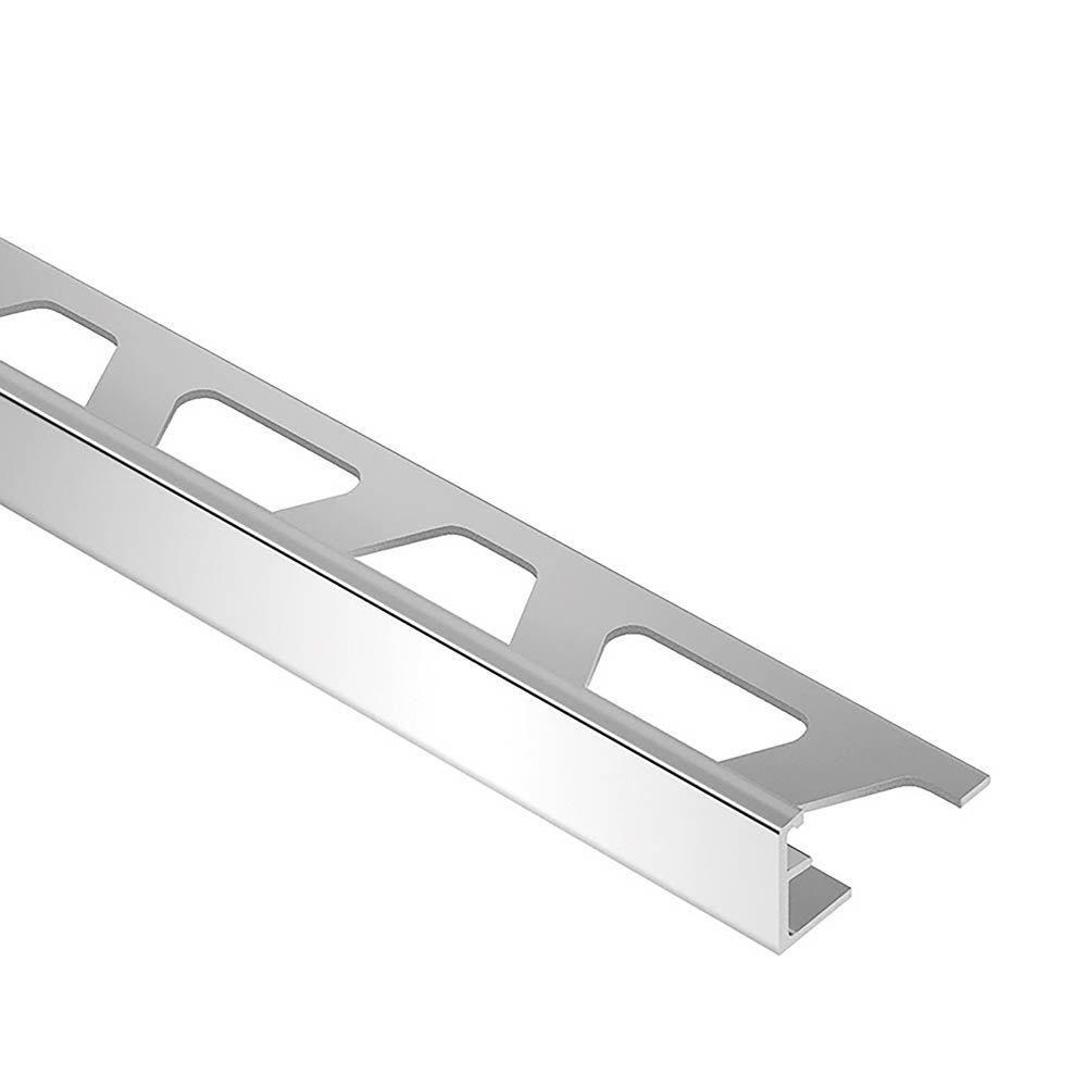 Schluter Schiene Edge Trim 11 16in Aluminum In 2021 Aluminum Metal Trim Tile Edge Trim