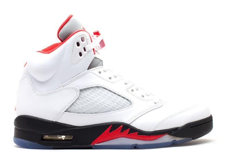 dbee84a0525e Jordan 5 Retro Fire Red