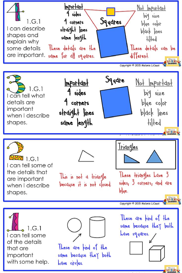 St Grade Cc Math Posters With Marzano Scales  Marzano