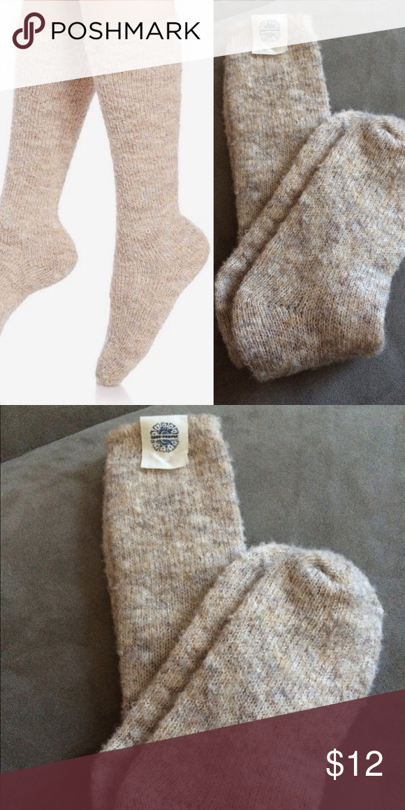 514dca0efac NWT free people fuzzy knee high boot socks NWT