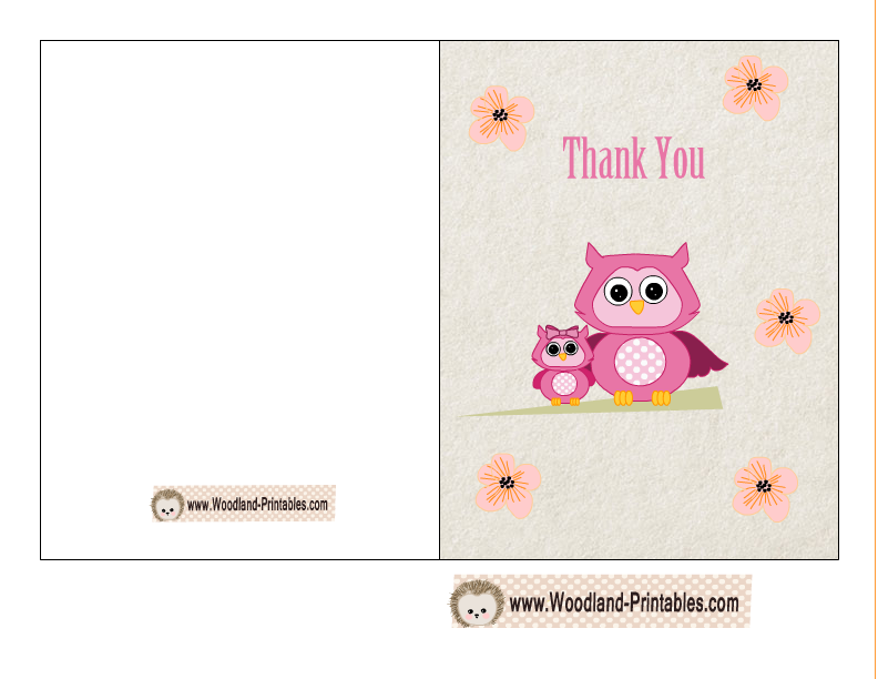 image about Free Printable Baby Shower Thank You Cards titled youngster shower thank by yourself playing cards no cost printable - Sinma
