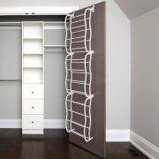 Zimtown Hanging Shoe Rack Over The Door 36 Pair Closet Space Saver Organizer Storage Image 3