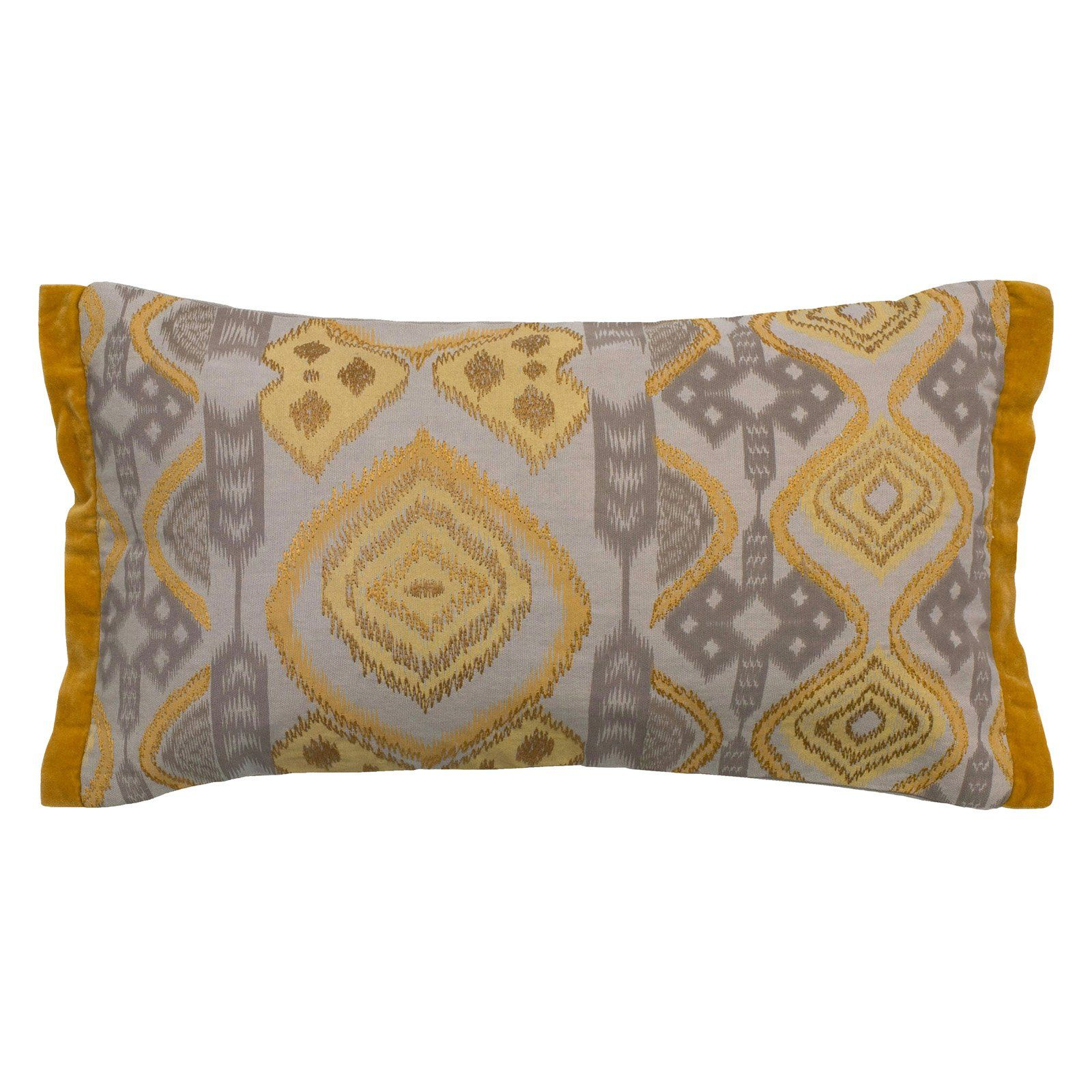 Rizzy Home Ikat Medallions Decorative Pillow ...