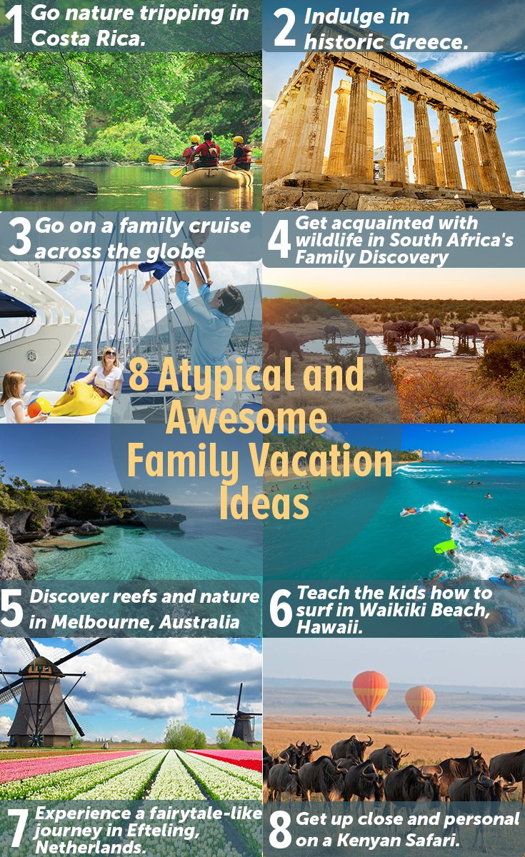 Places You Must Visit On Your Family Vacation Best Family Vacations Family Vacation Breathtaking Places