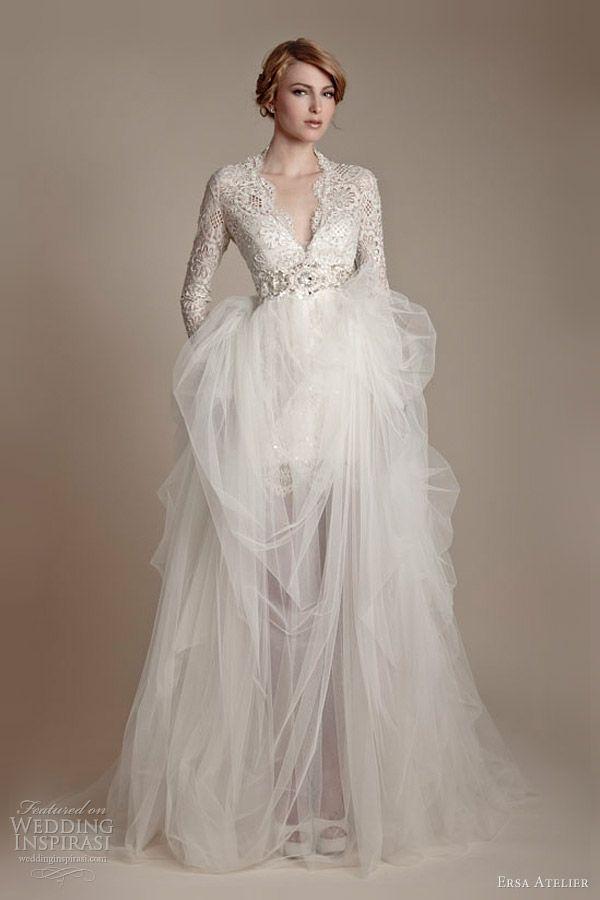 Ersa Atelier 2013 Wedding Dresses | Wedding, Tulle wedding dresses ...
