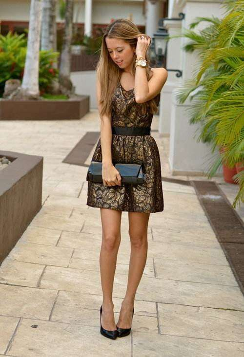 Moda vestidos de dia