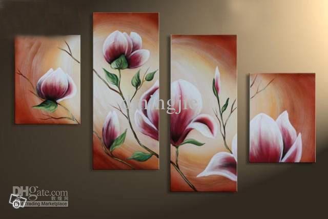 cuadros abstractos modernos con flores buscar con google