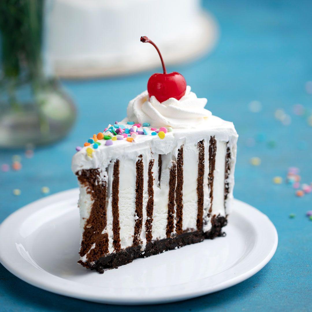 Ice Cream Sandwich Zebra Cake #desertlife
