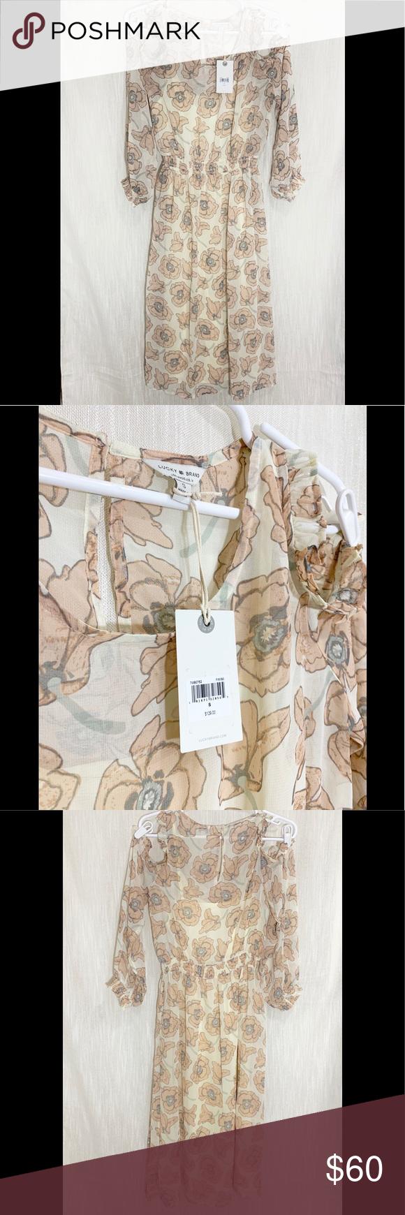 NWT Lucky Brand Dress NWT Dress brands, Lucky brand, Dresses