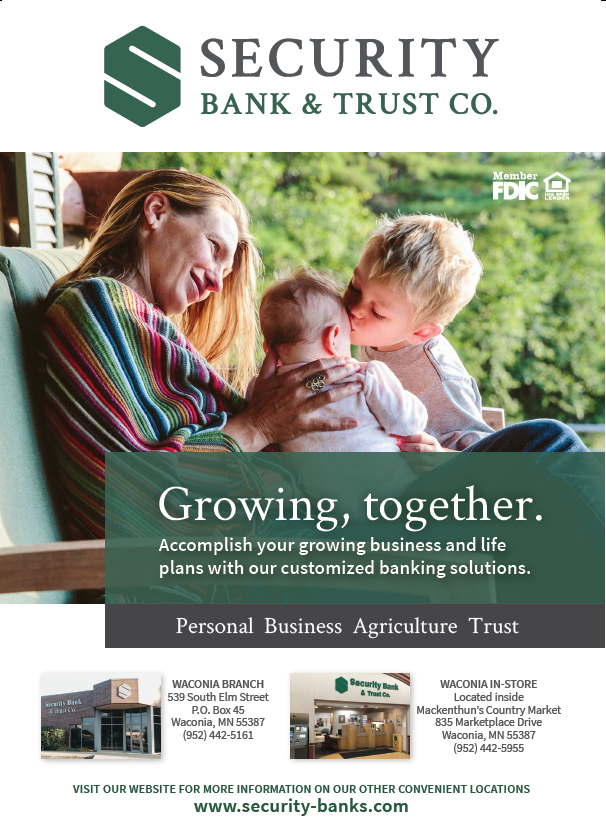 Waconia Mn Security Bank Trust Co 2019 Ad Banks Ads Banking