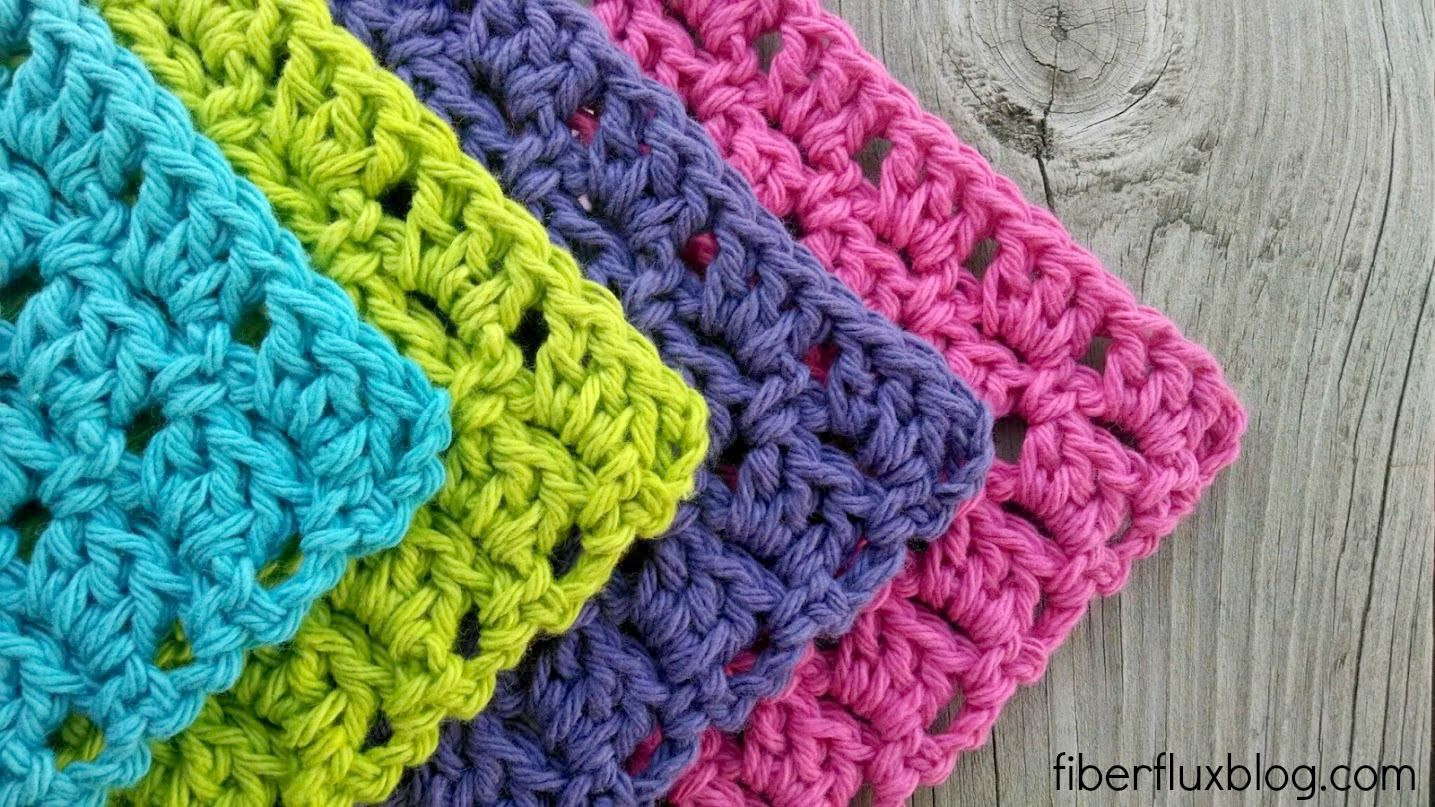 Free Crochet Pattern...Sparkling Clean Dishcloths! | Pinterest ...