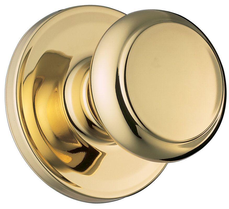 Weiser Lock  Satin Nickel PHOENIX DESIGN DUMMY TRIM KNOB