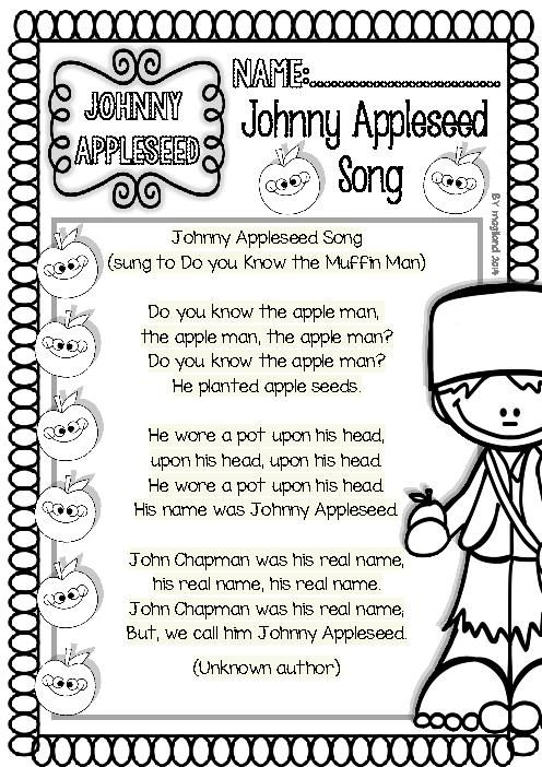 Johnny Appleseed Crafts Google Search Social Studies And Science