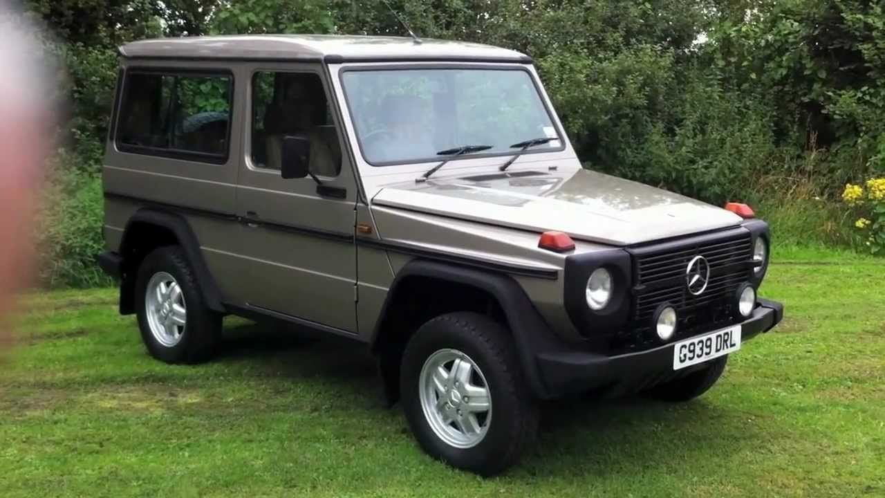 Classic 4x4 mercedes g wagon 300gd a2 in near mint condition