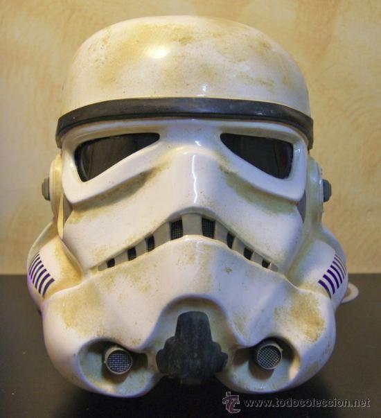 Casco de Soldado Imperial Original de Star Wars   Comprar