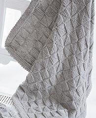 Gratis Anleitung Xxl Decke Mit Muster Stricken Free Knit Tutorial