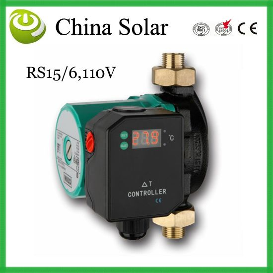 Rs15 6 110 120v Solar Pump Delta T Temperature Controller Water Pump Temperature Difference Circulation Pump Solar Solar Water Heater Water Heater