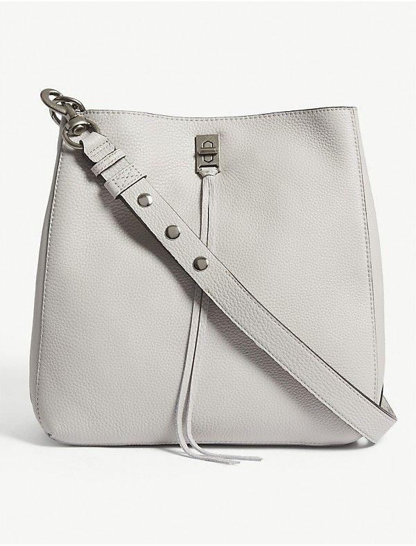 Rebecca Minkoff Darren Grained Leather Shoulder Bag Selfridges