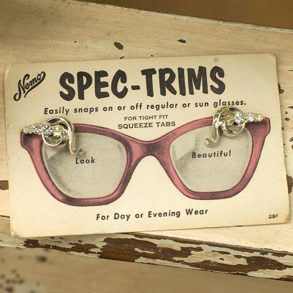 Vintage Spec Trims For Eyeglasses