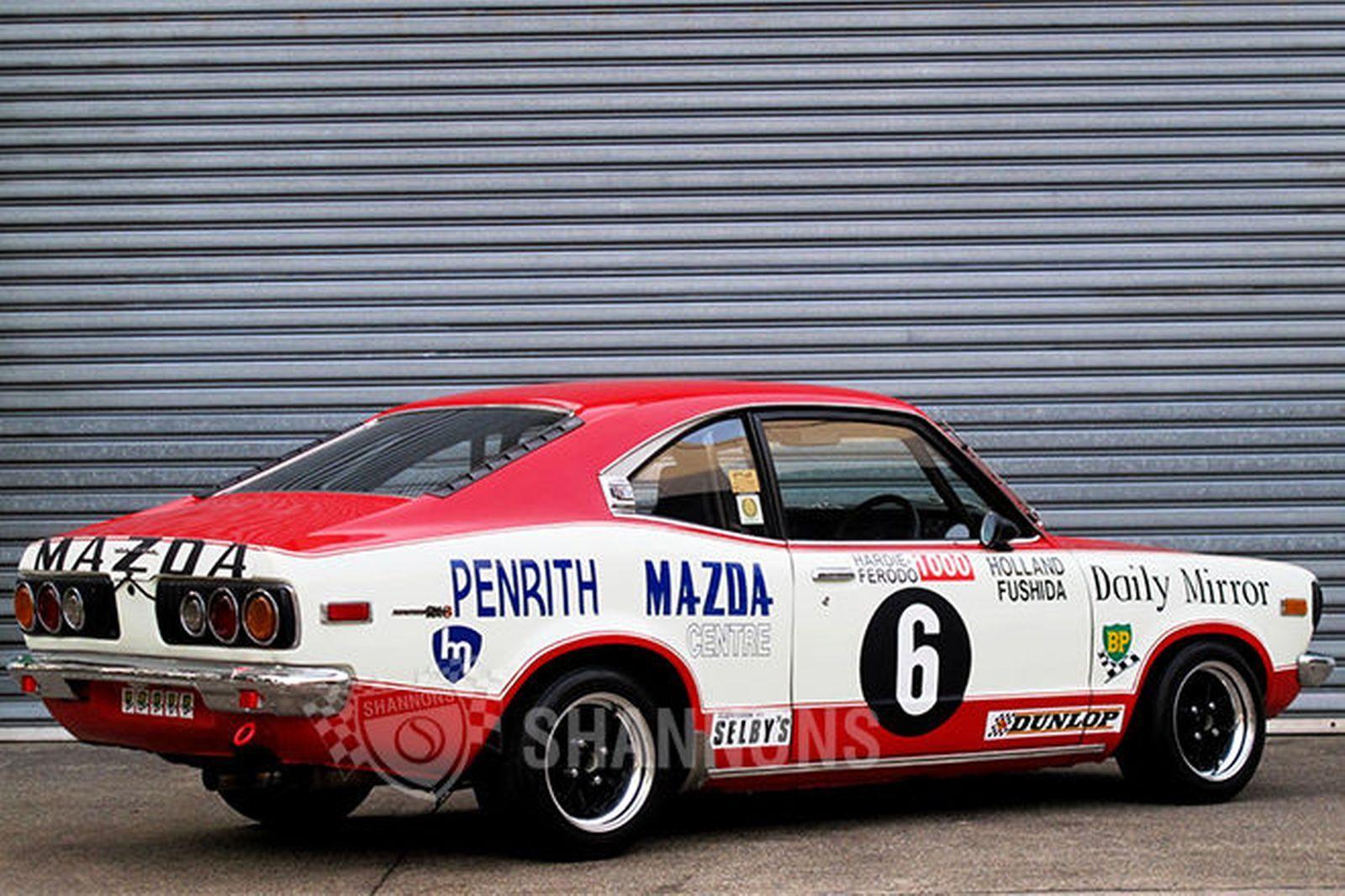 Mazda RX3 \'Group C\' Coupe Race Car (Ex Holland/Fushida) | Mazda ...