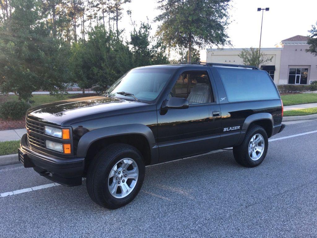 1993 Chevrolet Blazer 4 4 Sport Chevrolet Blazer Chevrolet