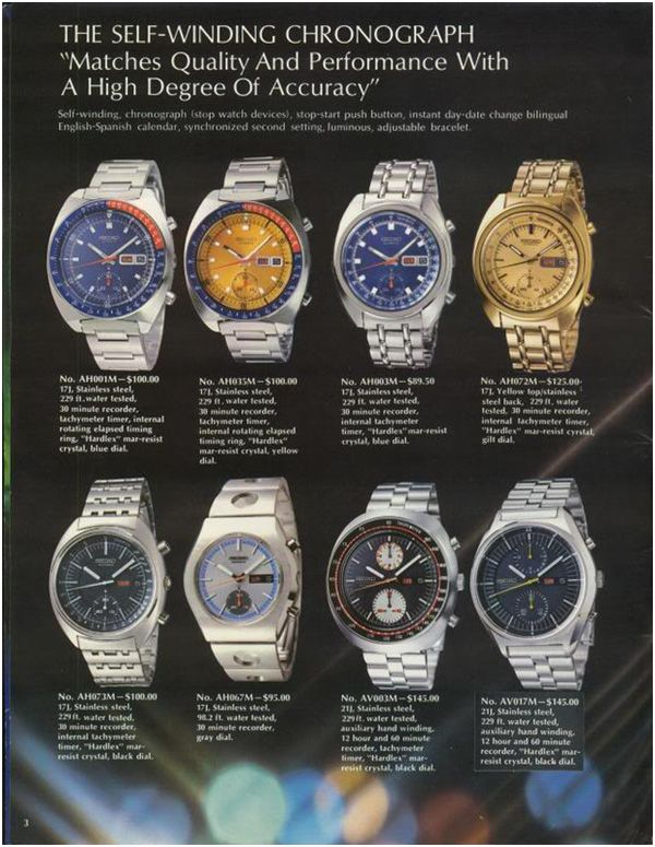 Seiko 6138 Chronograph Reference Guide Vintage Seiko Watches Seiko Automatic Chronograph Seiko