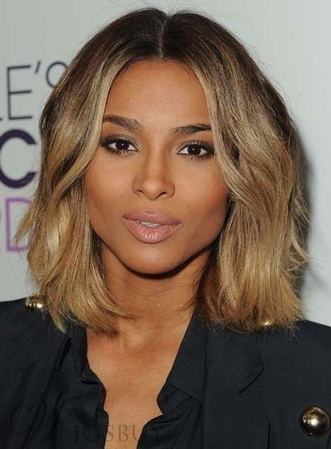 Ciara Medium Loose Wave Lace Front Human Hair Wig 12 Inches Ciara Short Hair Medium Hair Styles Thick Hair Styles