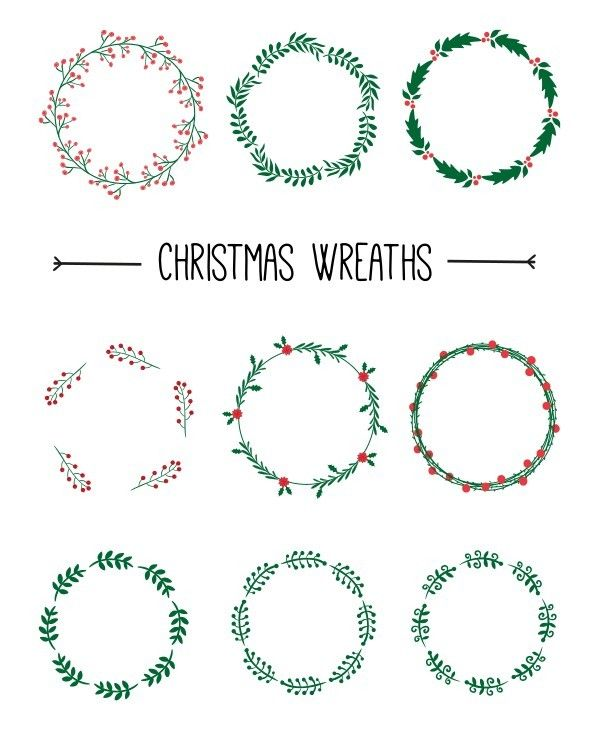 Christmas Freebies 2021 Top New Christmas Happy New Year Graphic Design Freebies For Free Download 365 We Christmas Embroidery Patterns Christmas Embroidery Easy Christmas Wreaths