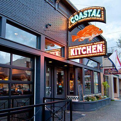 Coastal Kitchen Seattle Washington Coastalliving Seafood Restaurants
