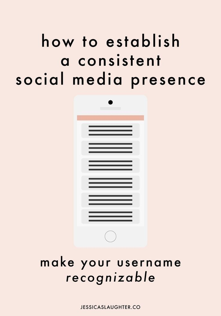 Establishing A Consistent Social Media Presence