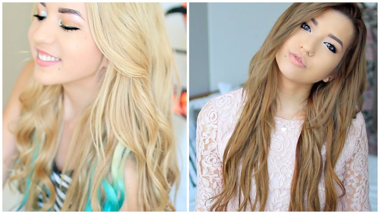 Blonde to brunette tips on growing out hair hair care