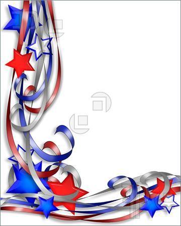 free patriotic page borders for patriotic background border