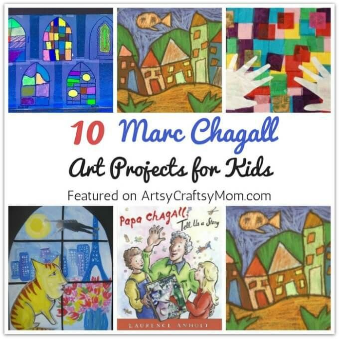 Photo of 10 Marc Chagall Art Projects for Kids