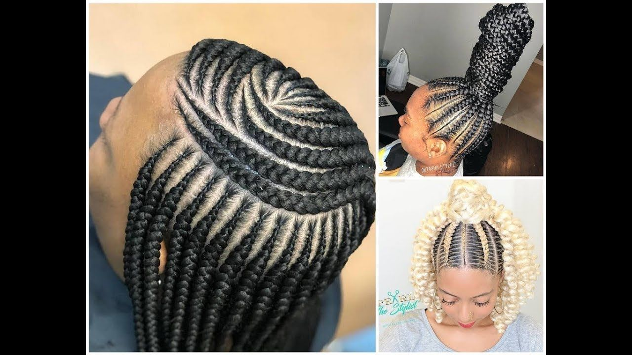 African American Hair Braid Styles: Amazing Braiding Hairstyles Compilation 2018 : Perfect For