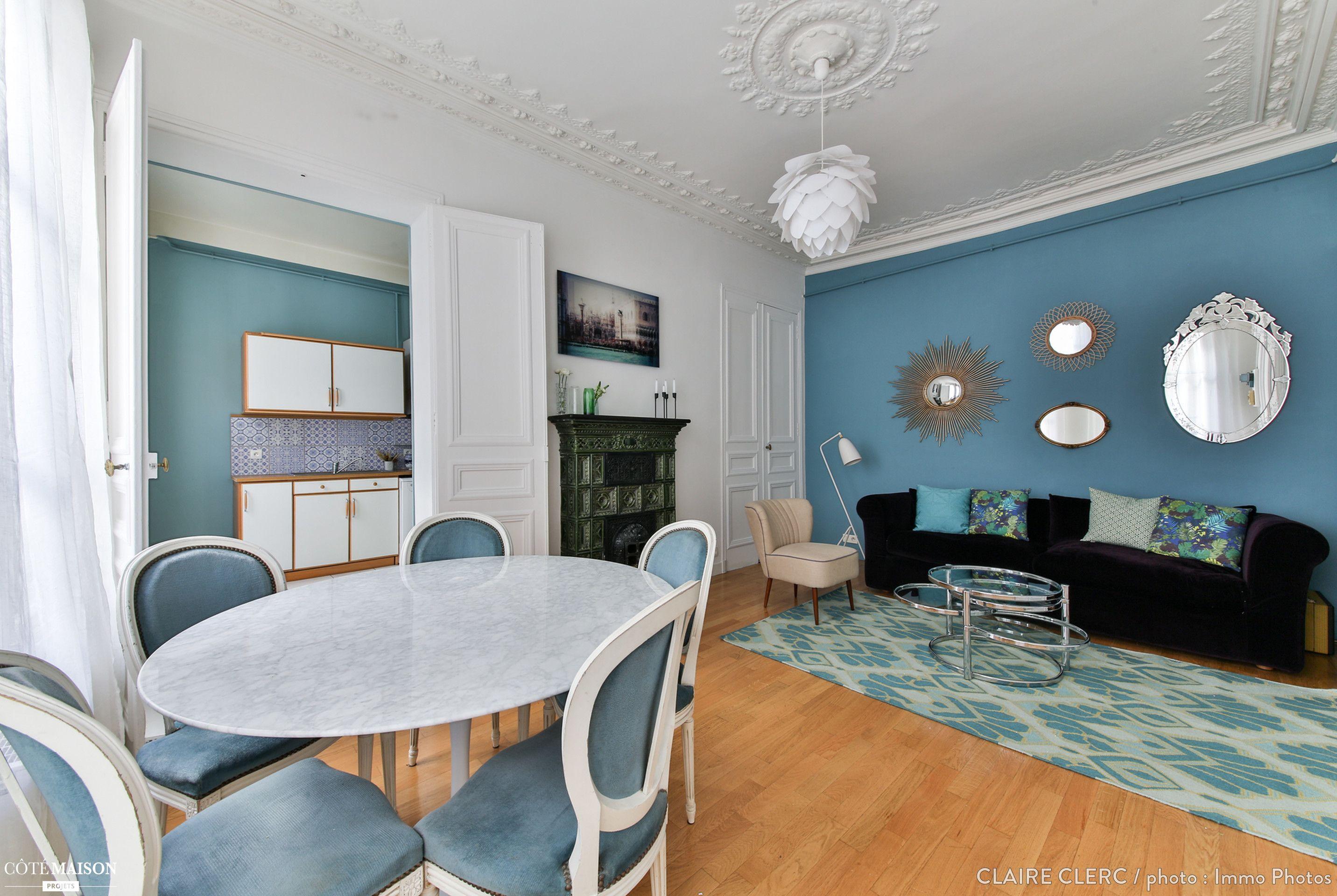 Métamorphose d\'un appartement, Paris, Claire Clerc Décoratrice d ...