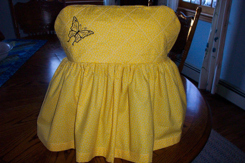 Gotta make this for my new KitchenAid mixer ... Sunflower fabric ...