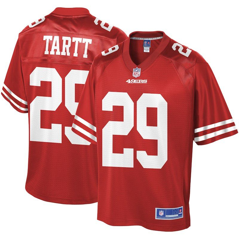 top fashion 88db4 ea5b2 Jaquiski Tartt San Francisco 49ers NFL Pro Line Team Player ...