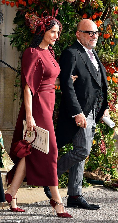 Princess Eugenie's wedding dress goes on display