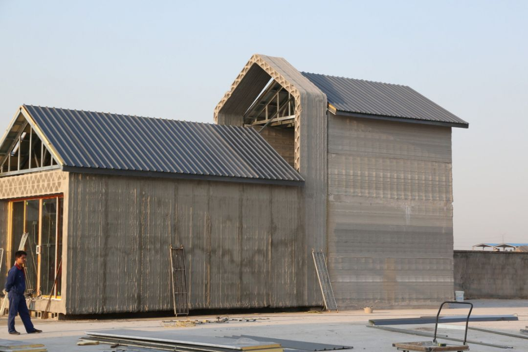 More detail on those Chinese 3D printed houses