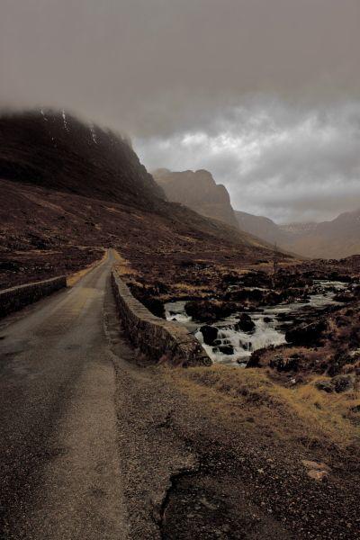 Scotland - Start of the Bealach-na-ba by Jacqui