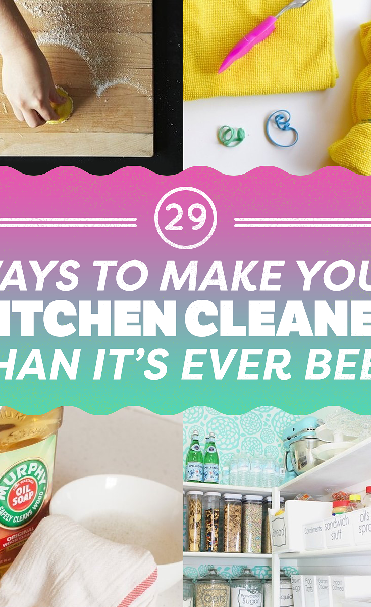 29 Clever Kitchen Cleaning Tips Every Clean Freak Needs To Know ...