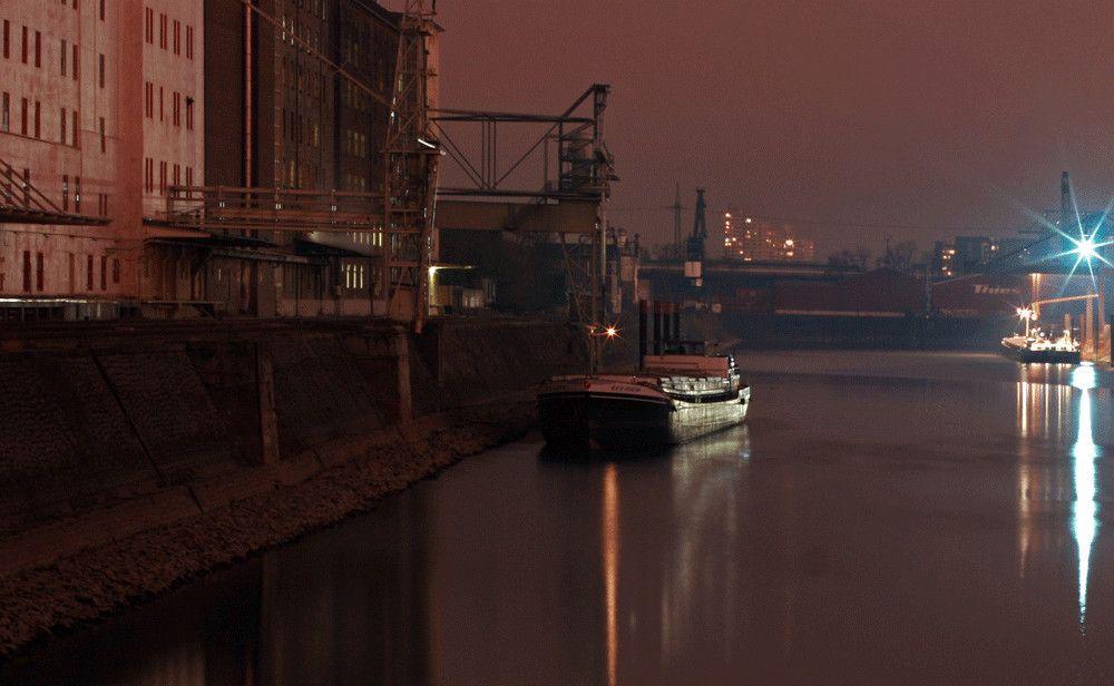 Deutzer Hafen von Hans G. Werner