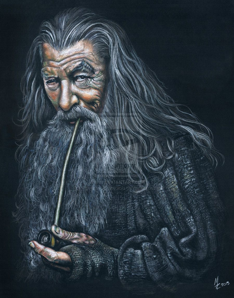 Gandalf The Grey (Hobbit/LOTR) - Sir Ian McKellen by Ravenwolf-Studios.deviantart.com on @deviantART