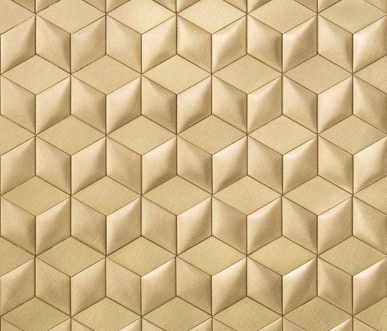 metal floor tiles.  Metal Mosaico Brushed Brass By De Castelli  Metal Floor Tiles To Floor Tiles