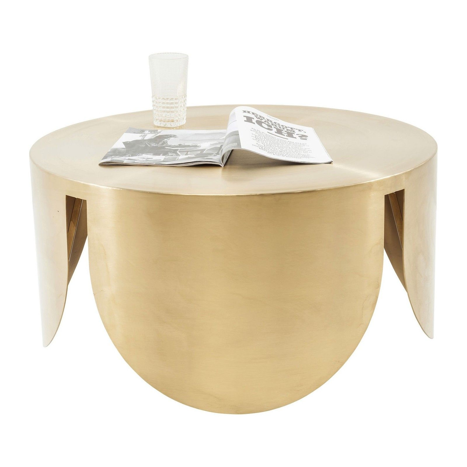 Table Basse Retro Dore New Wave Kare Design Table Basse Table Basse Verre Kare Design