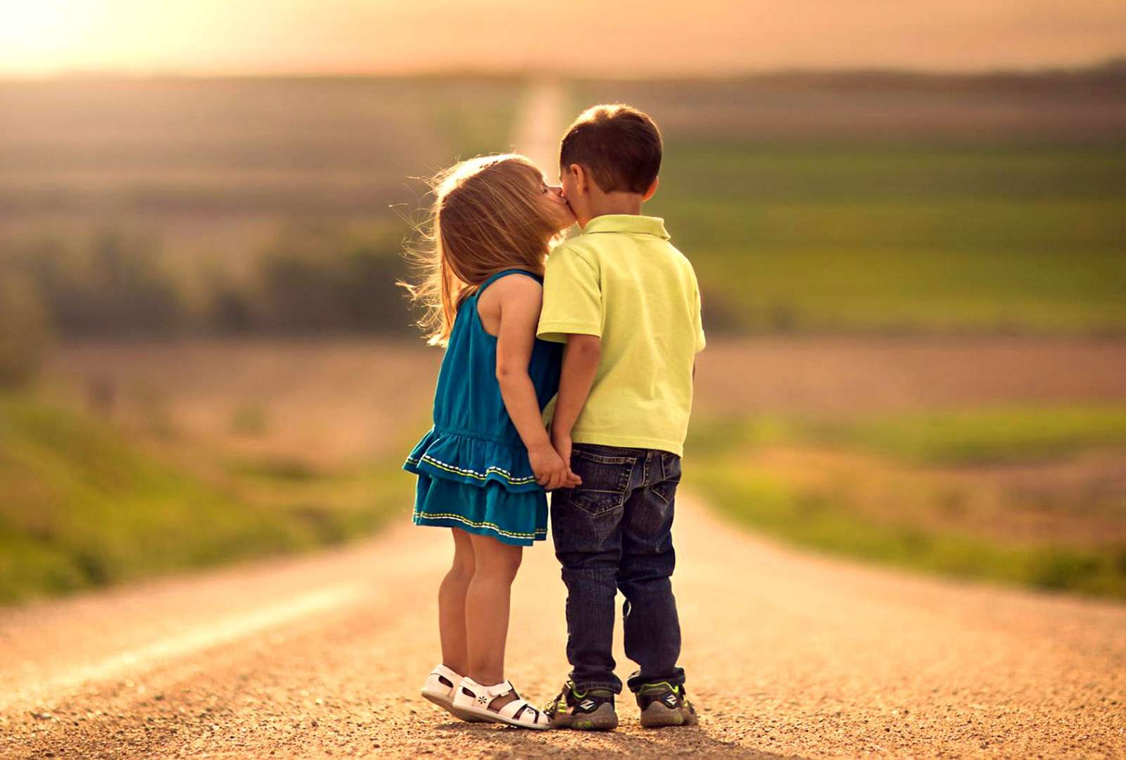 Cute Baby Couple Images With Quotes Smile