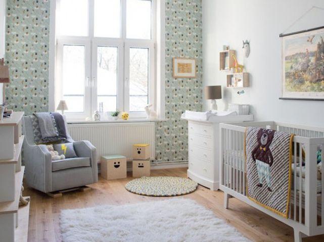 Chambre bebe style scandinave | Kids Room - Little Kingdom ...