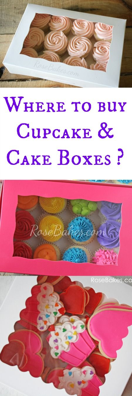 Decorative Bakery Boxes Brilliant Q&a Where To Buy Cakecupcake Boxes And Inserts  Buy Cake Design Ideas