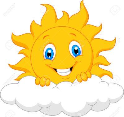 imagenes del sol en caricatura nube | Imagenes de soles, Sol ...